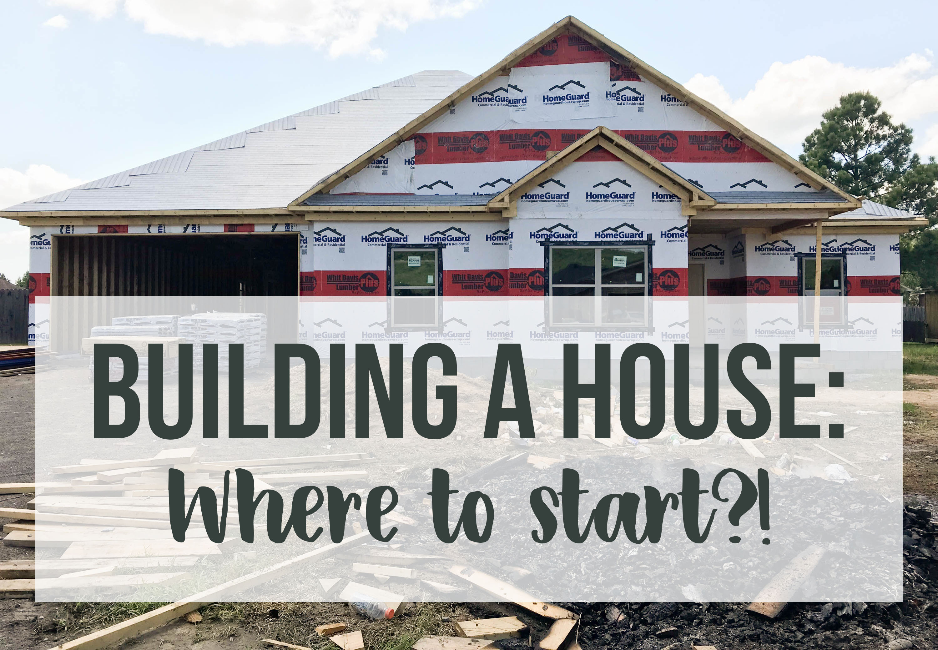 Building a house where to start allie young blog for Where to start when building a house